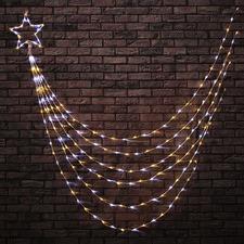 200 Cool & Warm White LED Shooting Star Lights