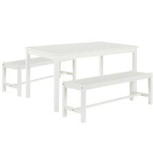 4 Seater Santa Cruz Outdoor Table & Bench Set
