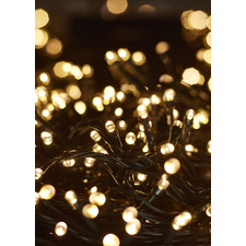 1000 Warm White LED Solar String Fairy Lights