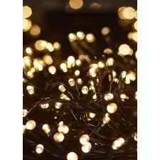 500 Warm White Solar Powered LED Fairy Lights