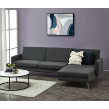 Brixton 3 Seater Chaise Sofa