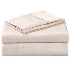 Cream 1000TC Cotton Sheet Set