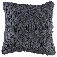 Charcoal Delilah European Pillowcase
