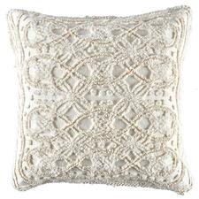 Cream Delilah European Pillowcase