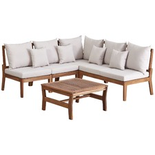 Anquilla Outdoor Modular Lounge Set with Cushions