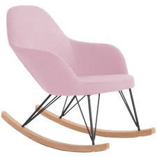 Blush Haley Rocking Chair
