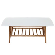 White & Blonde Bjorke Coffee Table