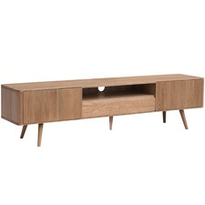 Eden Oak 2m Large Entertainment Unit