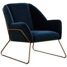 Marco Luxe Velvet Armchair