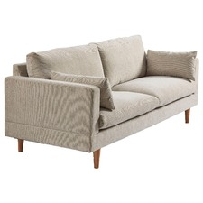 Sand Silas 3 Seater Sofa