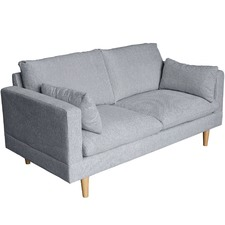 Grey Silas 2 Seater Sofa