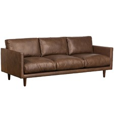Carson 3 Seater Italian Leather Sofa