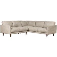 Grey Carson 4 Seater Corner Sofa