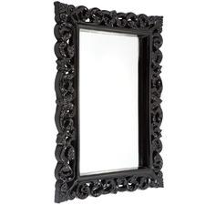 Ornate Sapphire Wall Mirror