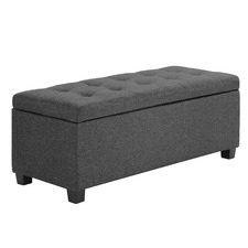 Emily Upholstered Storage Ottoman