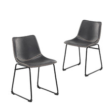 Phoenix Vintage-Style Dining Chairs (Set of 2)
