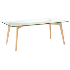 Stad Rectangular Glass Coffee Table