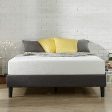 Essentials Upholstered Queen Platform Bed