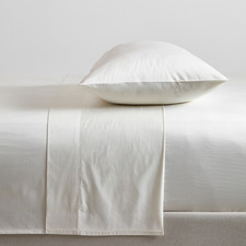 Cream Bamboo & Cotton Sheet Set