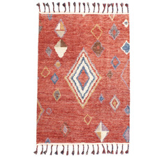 Multi-Coloured Haven Wool Rug
