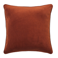 Terracotta Malmo Soft Velvet Cushion