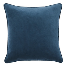 Denim Malmo Soft Velvet Cushion