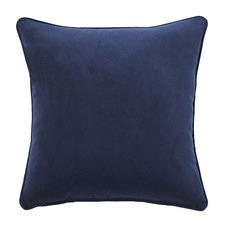 Indigo Malmo Soft Velvet Cushion