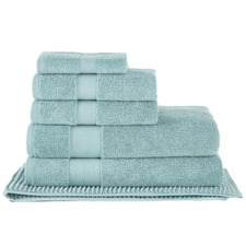 6 Piece Seafoam Aspen 550GSM Turkish Cotton Towel Set