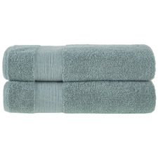 Seafoam Grand 800GSM Turkish Cotton Bath Sheets (Set of 2)