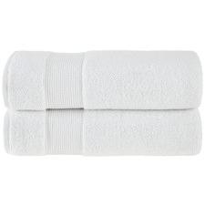 White Grand 800GSM Turkish Cotton Towel Set
