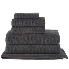 Charcoal Willow 600GSM Turkish Cotton Towel Set