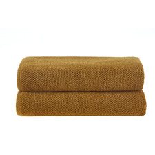 Ochre Willow 600GSM Turkish Cotton Towel Set