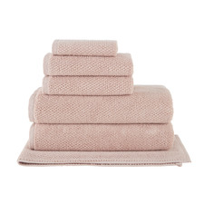 6 Piece Blush Willow 600GSM Turkish Cotton Towel Set