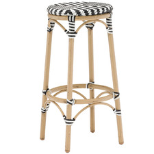 Paris PE Rattan Cafe Barstool