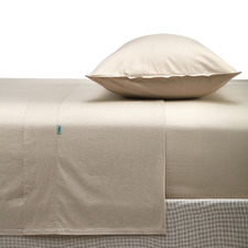 Vintage-Wash Cotton Sheet Set