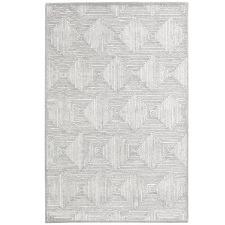 Grey Mason Hand-Tufted Wool Blend Rug