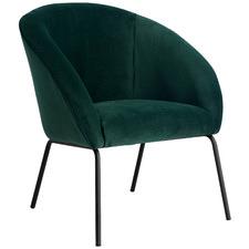 Zoe Velvet Armchair