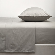 Platinum Washed Organic Cotton Sheet Set