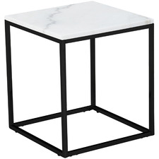 Siena Square Marble Side Table