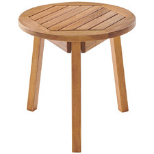 Saint Barths Wooden Outdoor Side Table