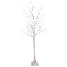 180cm Warm White LED Birch Twig Christmas Tree