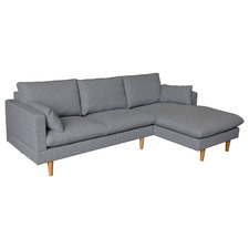 Grey Silas Sofa with Chaise
