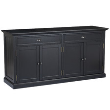 Large Black Maison Sideboard Buffet