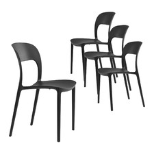 Everly UV-Stabilised Outdoor Dining Chairs (Set of 4)