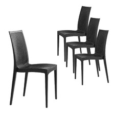 Piazza UV-Stabilised Outdoor Dining Chairs (Set of 4)