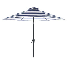 2.7m Striped Brighton Market Umbrella