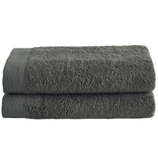 Charcoal Spa 600GSM Bamboo & Turkish Cotton Towel Set