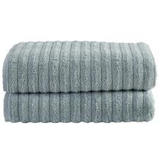 Seafoam Ribbed 600GSM Turkish Cotton Towel Set