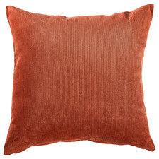 Rust Corduroy Cushion