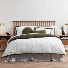 Trace Organic Cotton Quilt Cover Set